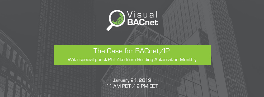 Optigo Networks' webinar on the case for BACnet IP with guest Phil Zito Building Automation Monthly