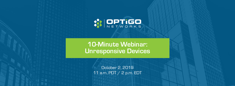 BACnet Unresponsive Devices 10-minute webinar